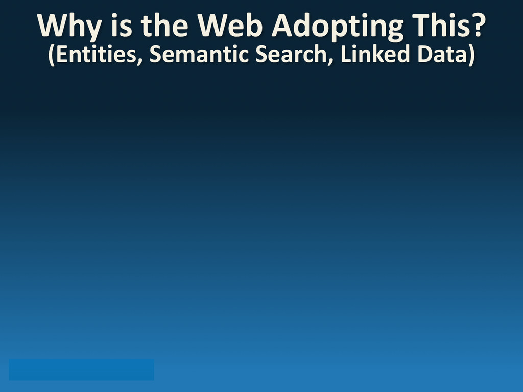 Why is the Web Adopting This? (E...