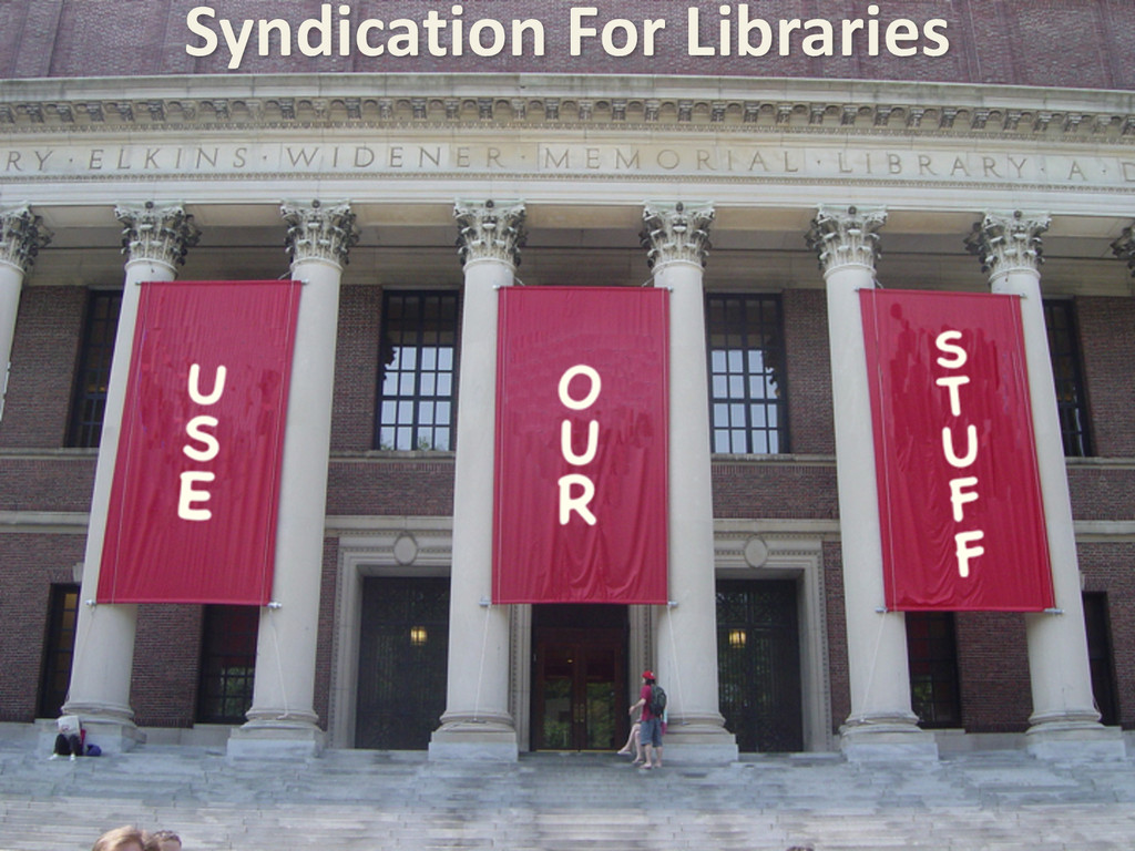 Syndication For Libraries
