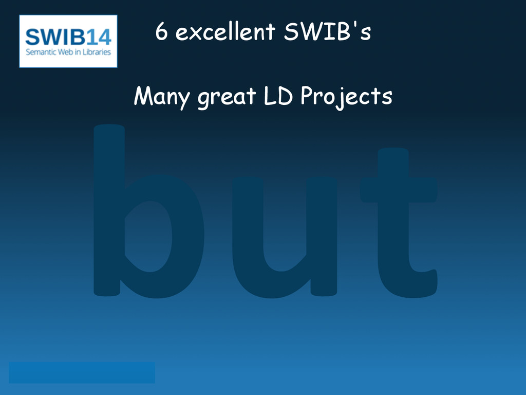but 6 excellent SWIB's ! Many great LD Projects