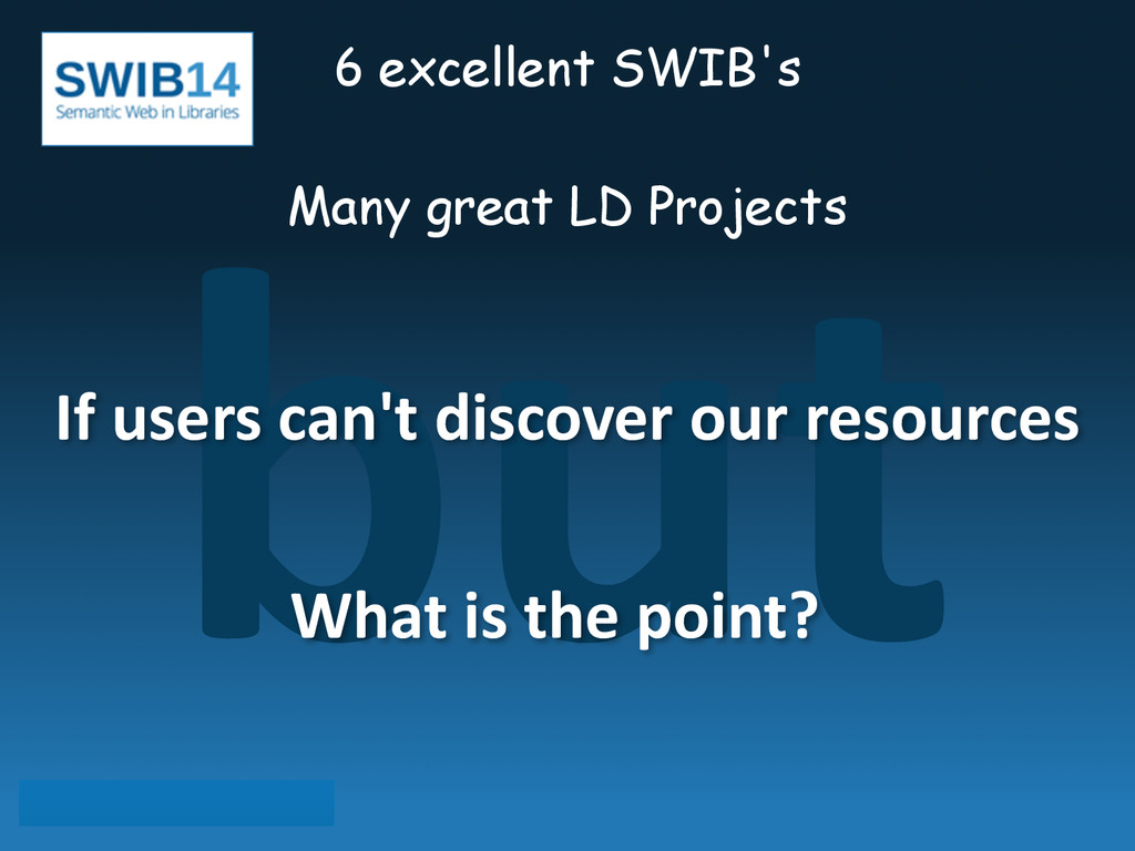 but 6 excellent SWIB's ! Many great LD Projects...