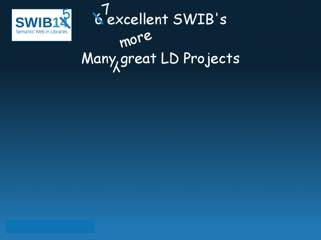 6 excellent SWIB's ! Many great LD Projects 7 5...
