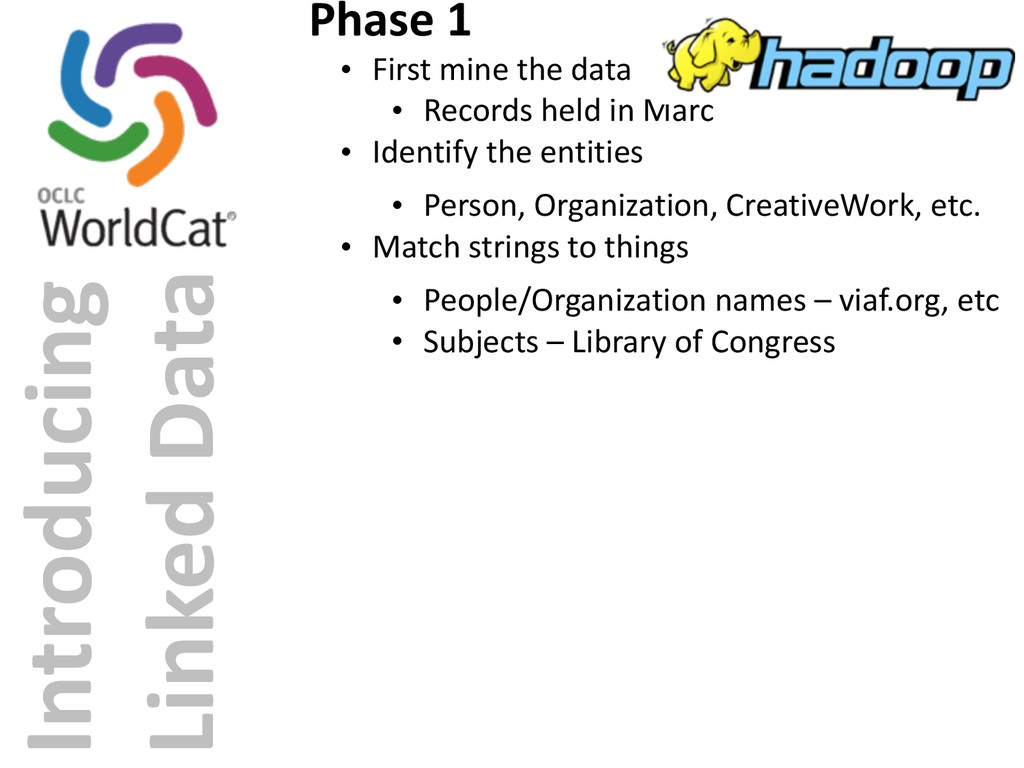 Introducing  Linked Data Phase 1 • Fir...