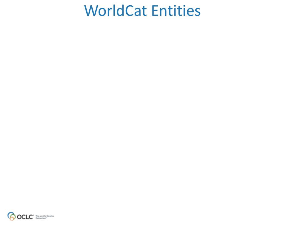 WorldCat Entities