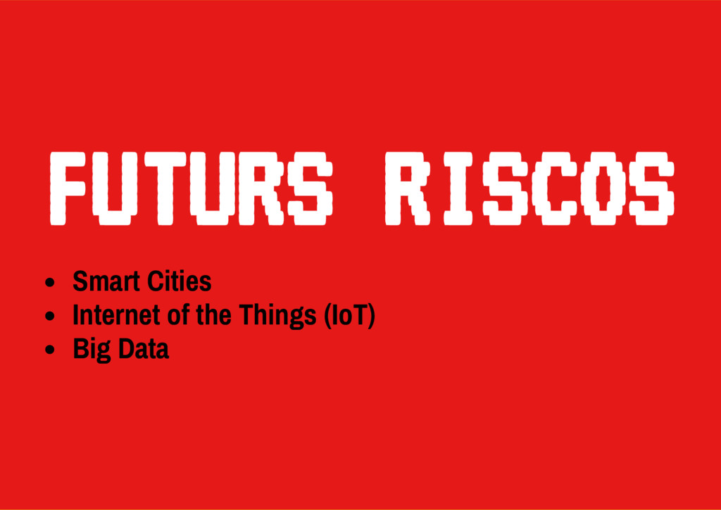 Smart Cities Internet of the Things (IoT) Big D...