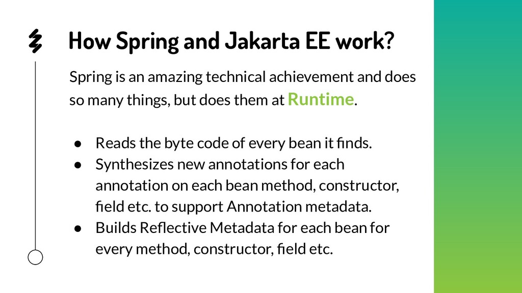 How Spring and Jakarta EE work? Spring is an am...