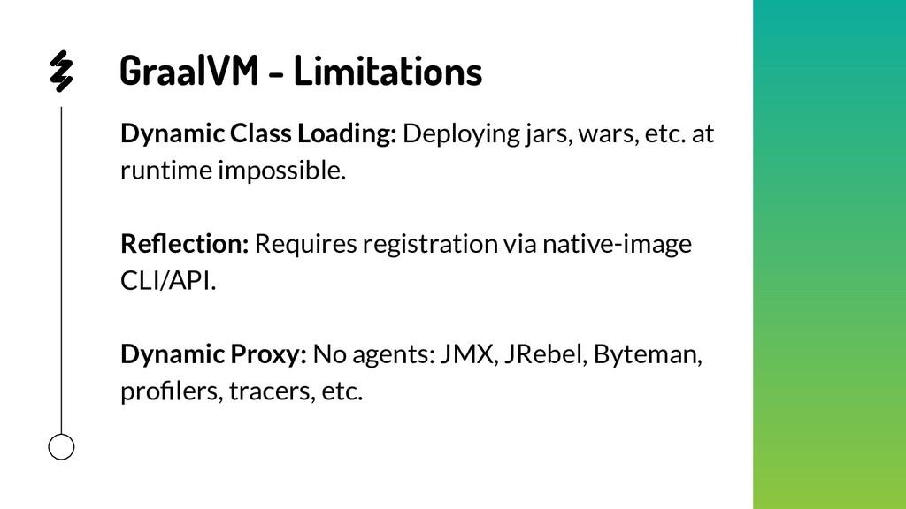 GraalVM - Limitations Dynamic Class Loading: De...