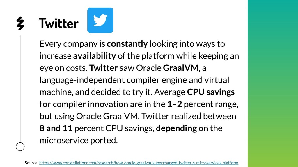 Twitter Every company is constantly looking int...