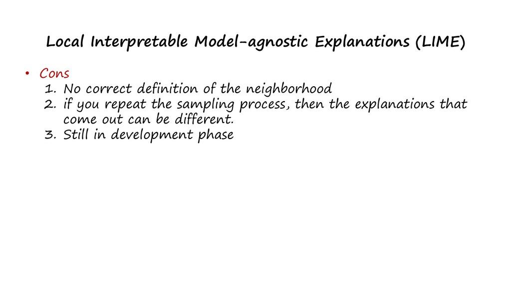 Local Interpretable Model-agnostic Explanations...