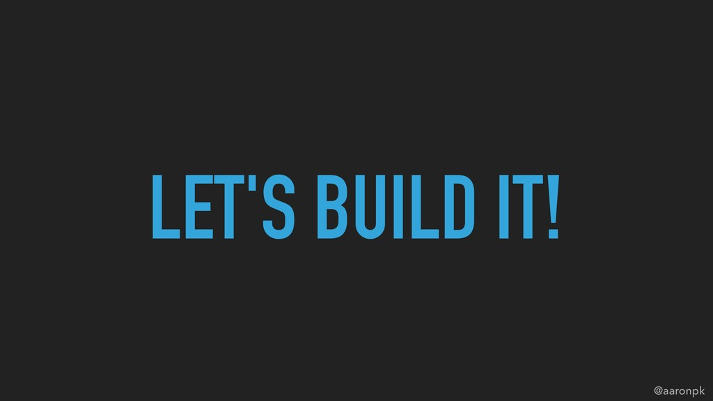 @aaronpk LET'S BUILD IT!