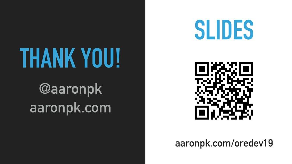 @aaronpk THANK YOU! @aaronpk aaronpk.com aaronp...