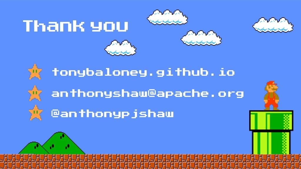 Thank you anthonyshaw@apache.org tonybaloney.gi...