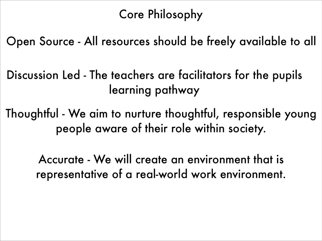 Core Philosophy Open Source - All resources sho...