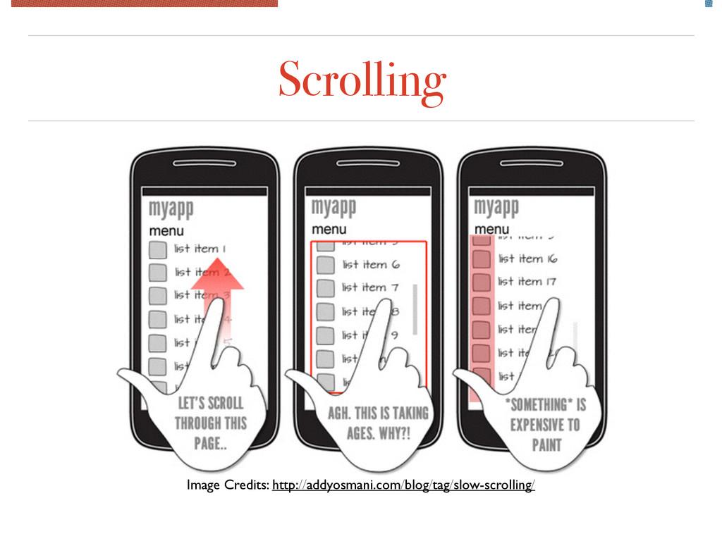 Scrolling Image Credits: http://addyosmani.com/...