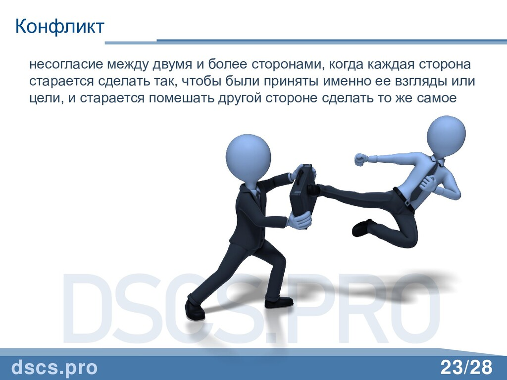 DSCS.PRO 23/28 Конфликт dscs.pro несогласие меж...