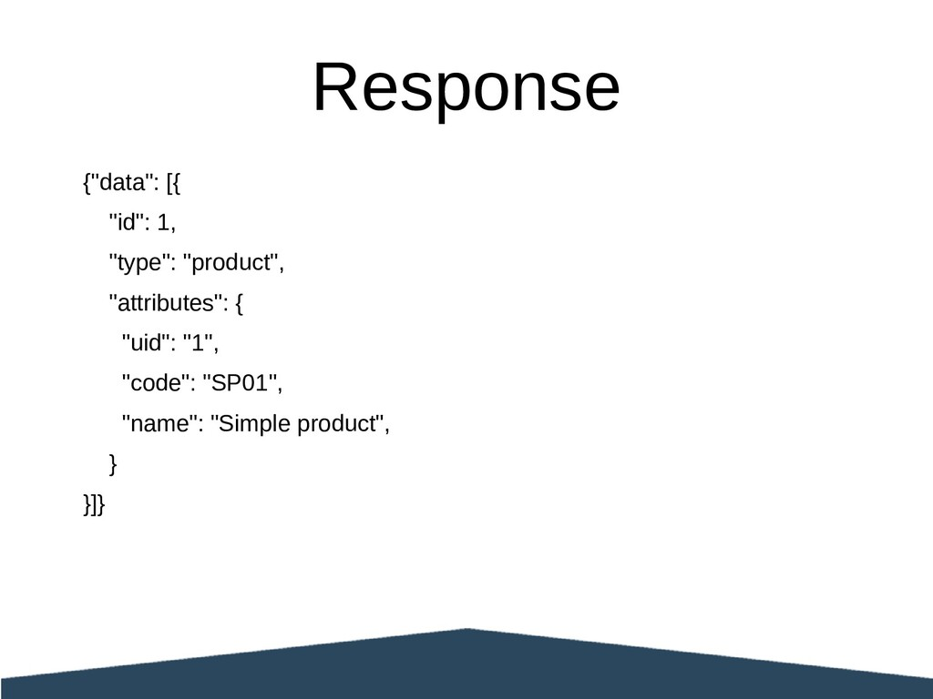 "{""data"": [{ ""id"": 1, ""type"": ""product"", ""attrib..."