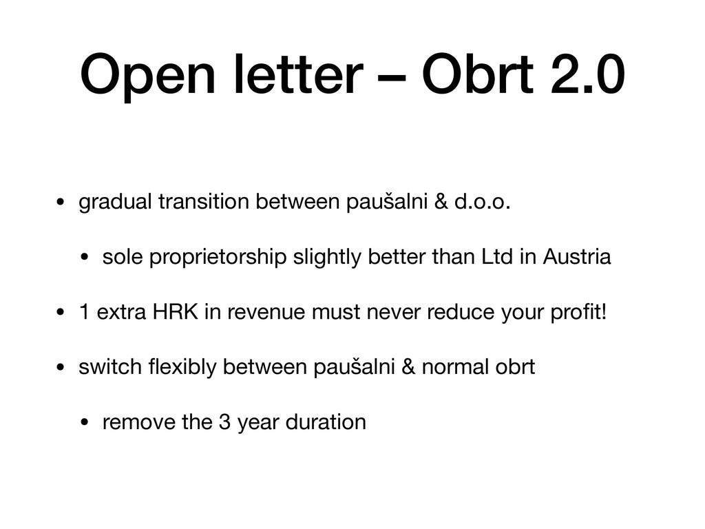 Open letter – Obrt 2.0 • gradual transition bet...