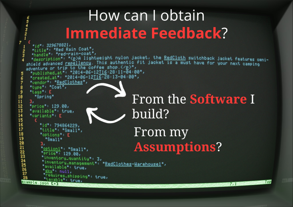 How can I obtain Immediate Feedback? From the S...