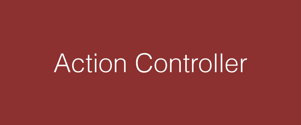 Action Controller
