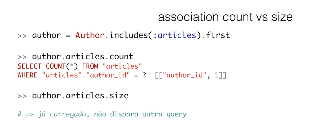 association count vs size >> author = Author.in...