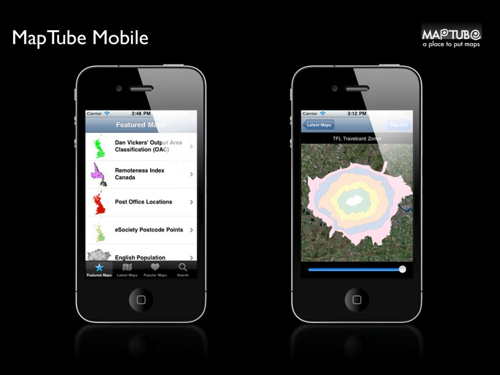 MapTube Mobile