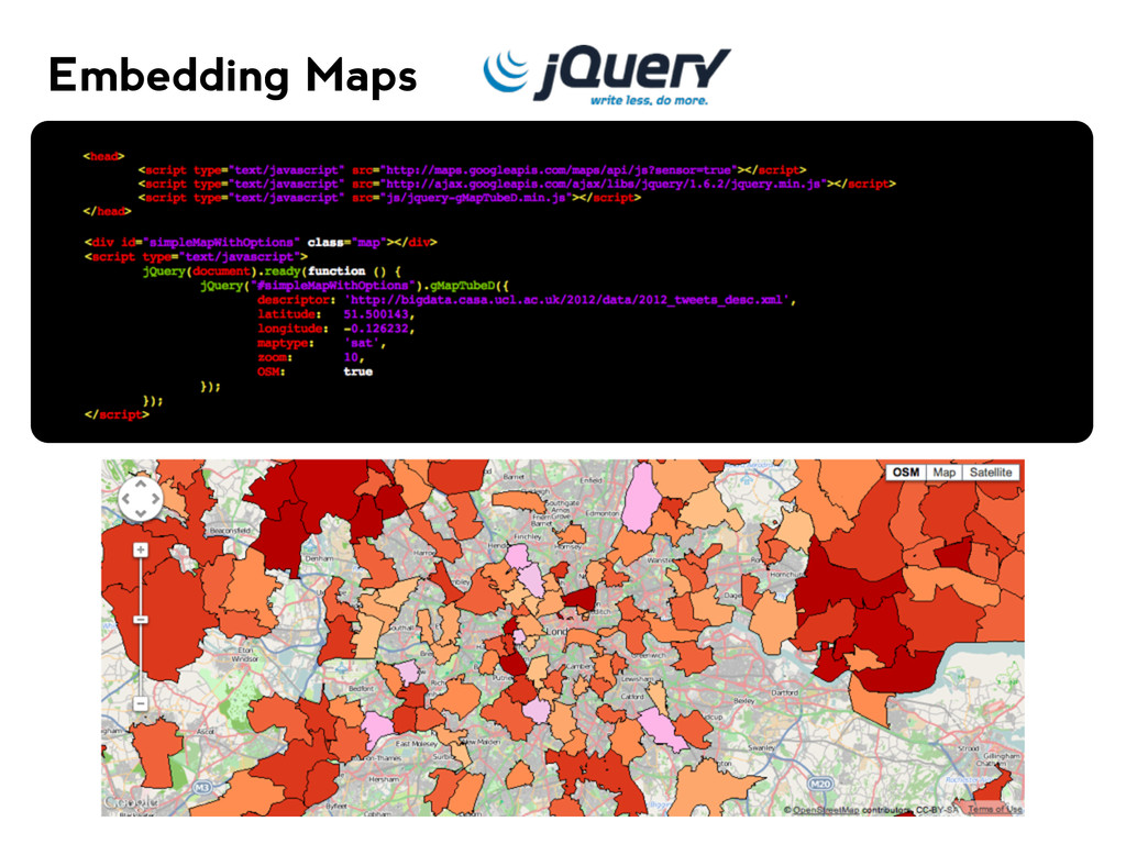 Embedding Maps