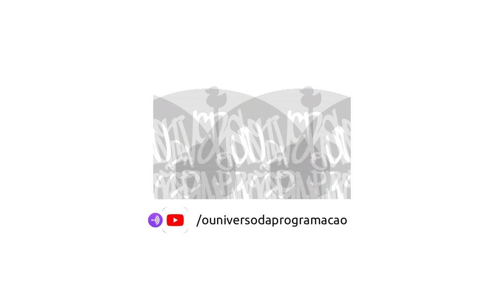 /ouniversodaprogramacao