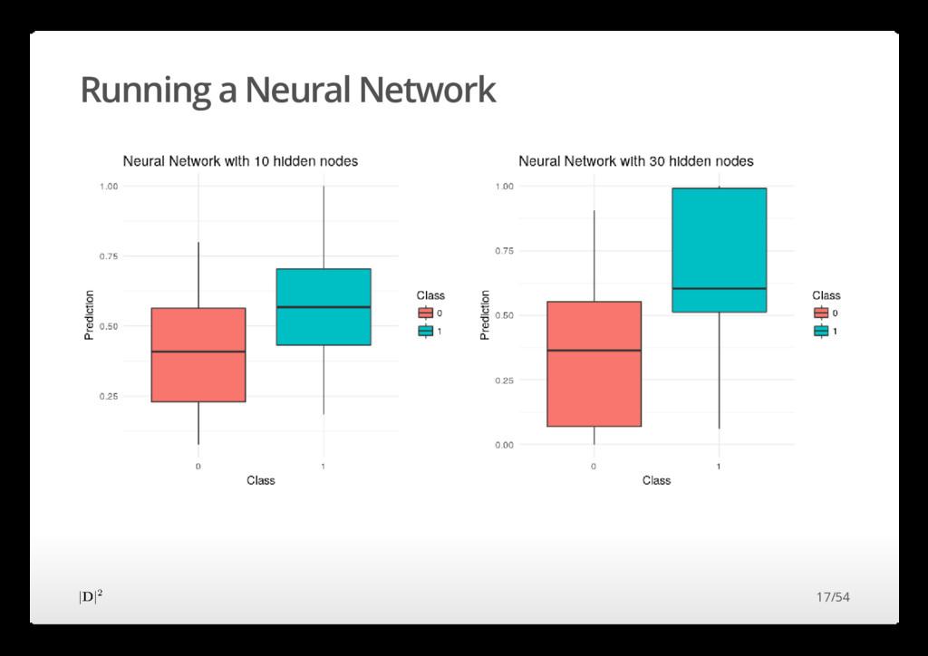 Running a Neural Network 17/54