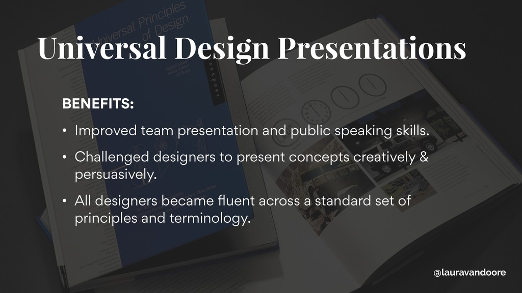 BENEFITS: • Improved team presentation and publ...