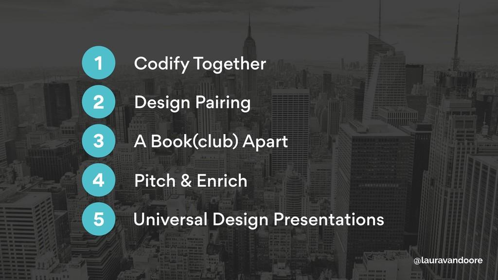 Codify Together 1 Design Pairing A Book(club) A...