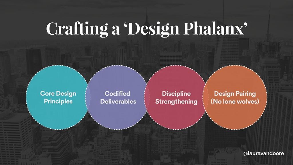 Crafting a 'Design Phalanx' Core Design Princip...