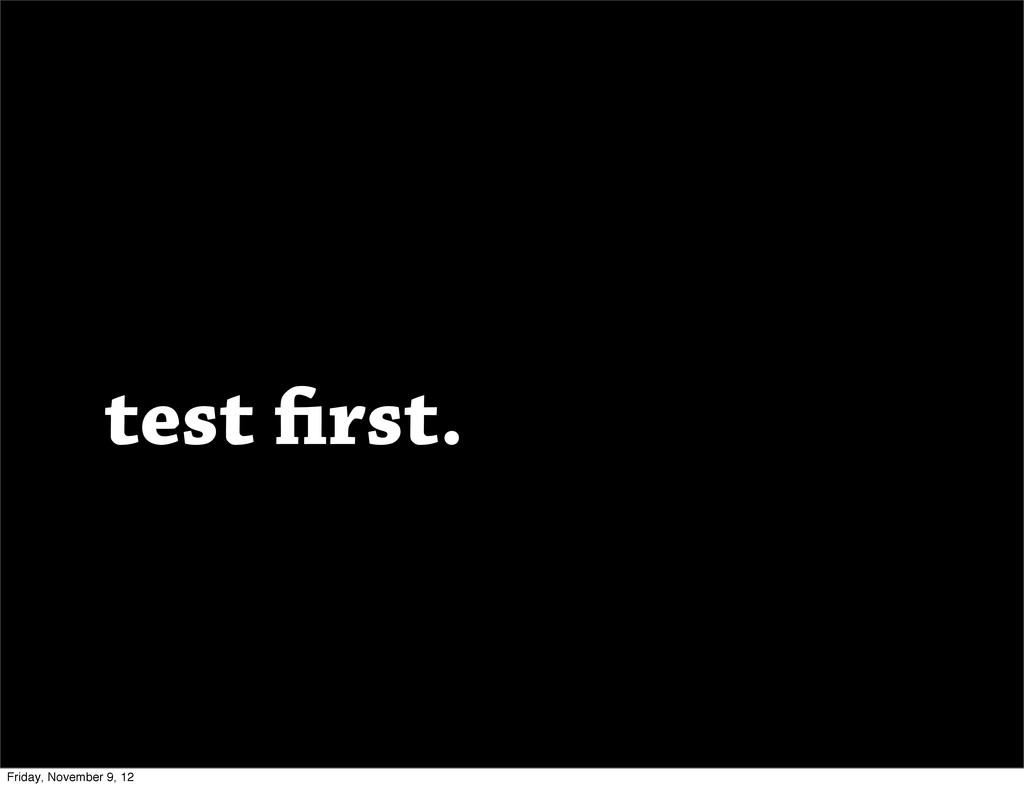 test rst. Friday, November 9, 12