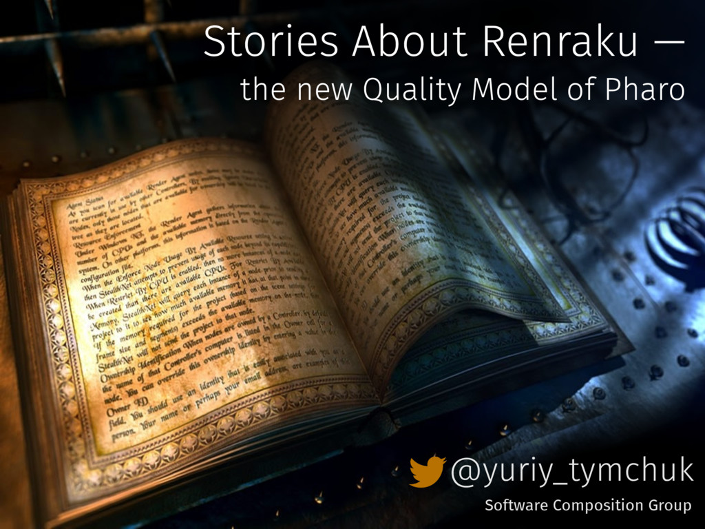 Stories About Renraku — the new Quality Model o...