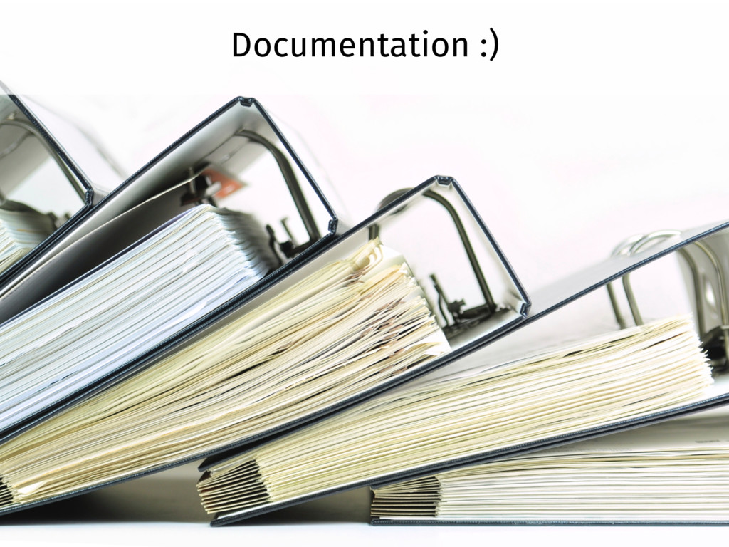 Documentation :)