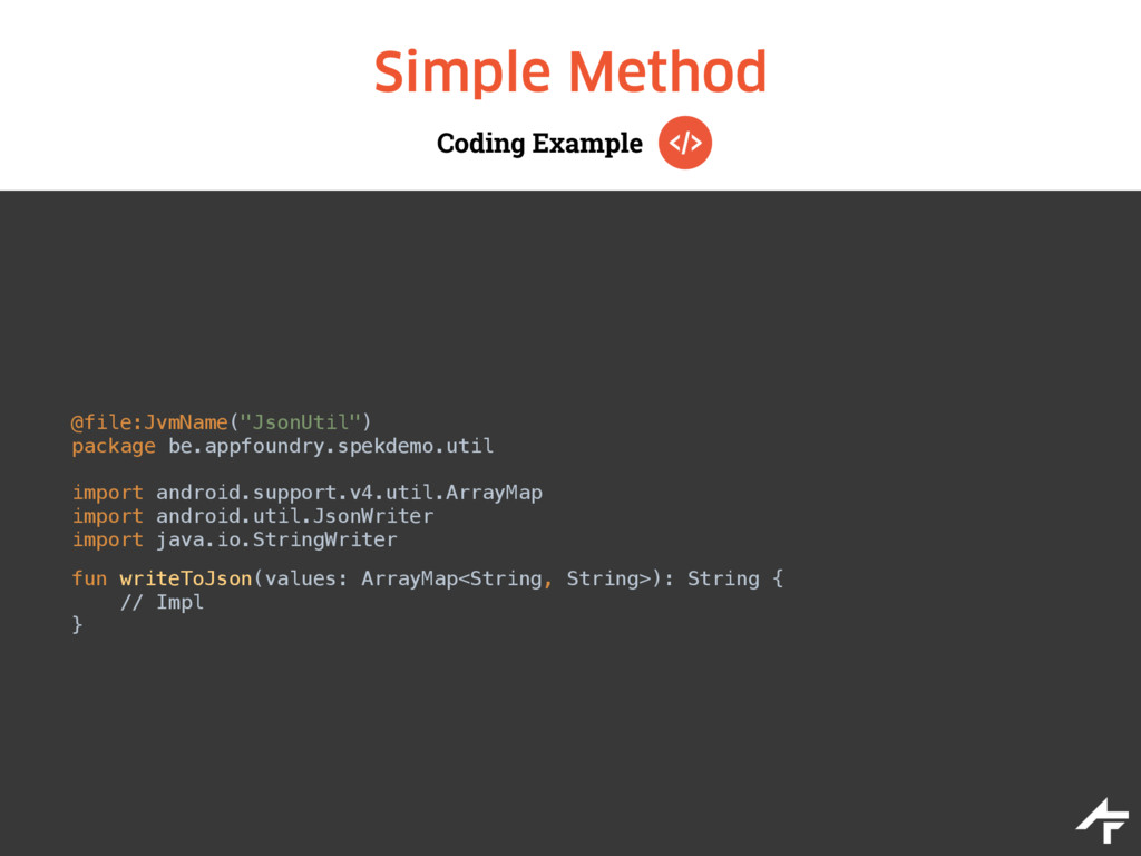 "Coding Example Simple Method @file:JvmName(""Jso..."