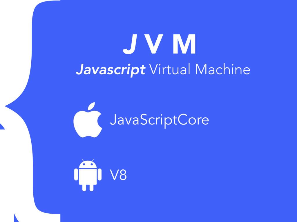 J V M Javascript Virtual Machine JavaScriptCore...