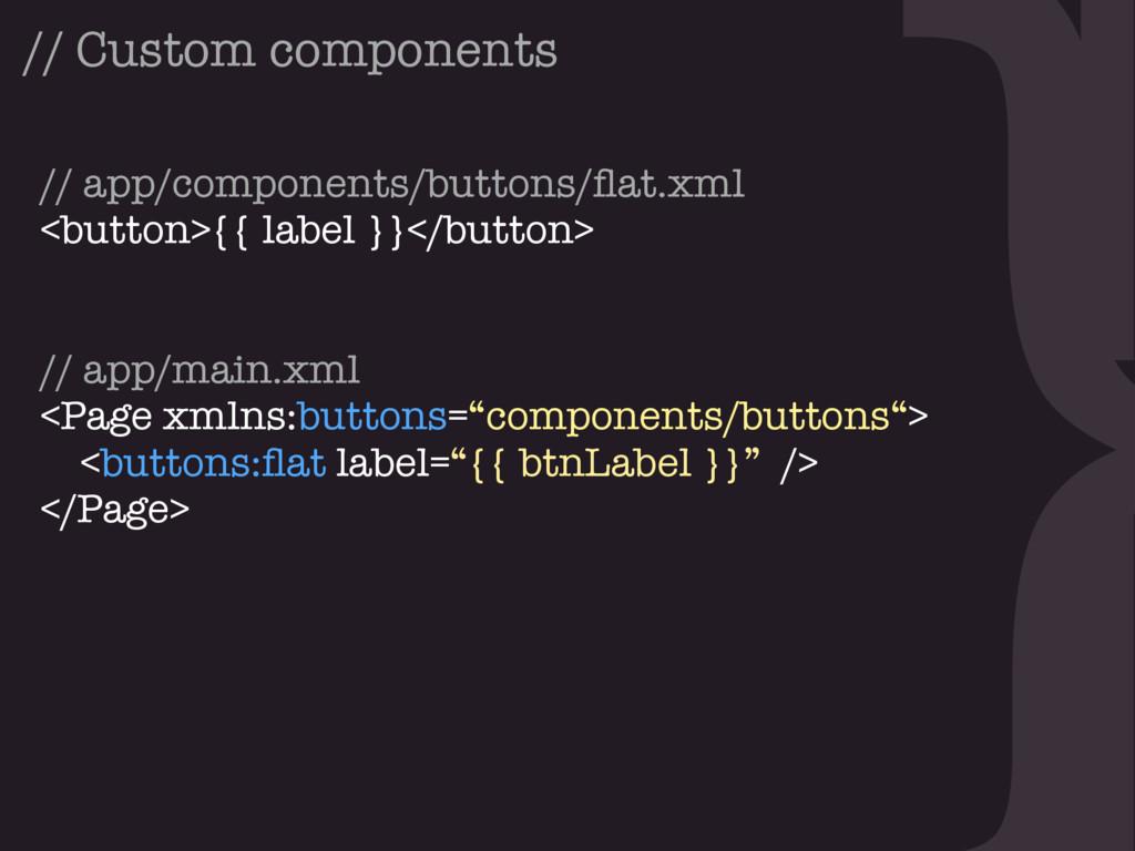 } // app/components/buttons/flat.xml <button>{{ ...