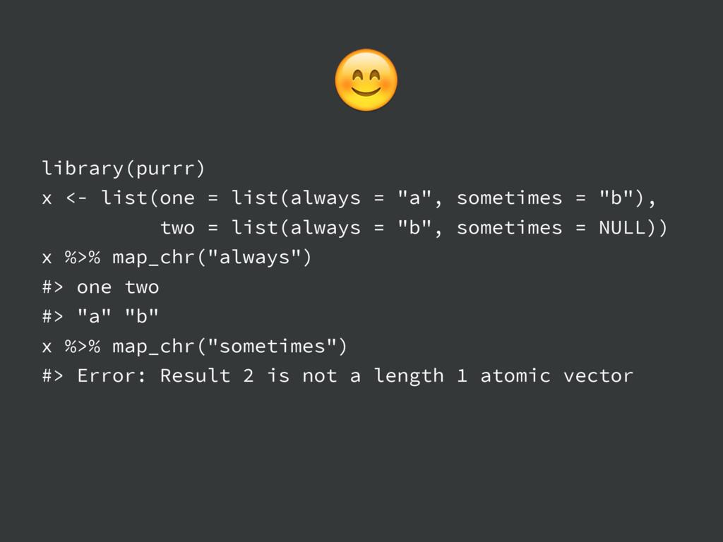 "library(purrr) x <- list(one = list(always = ""a..."