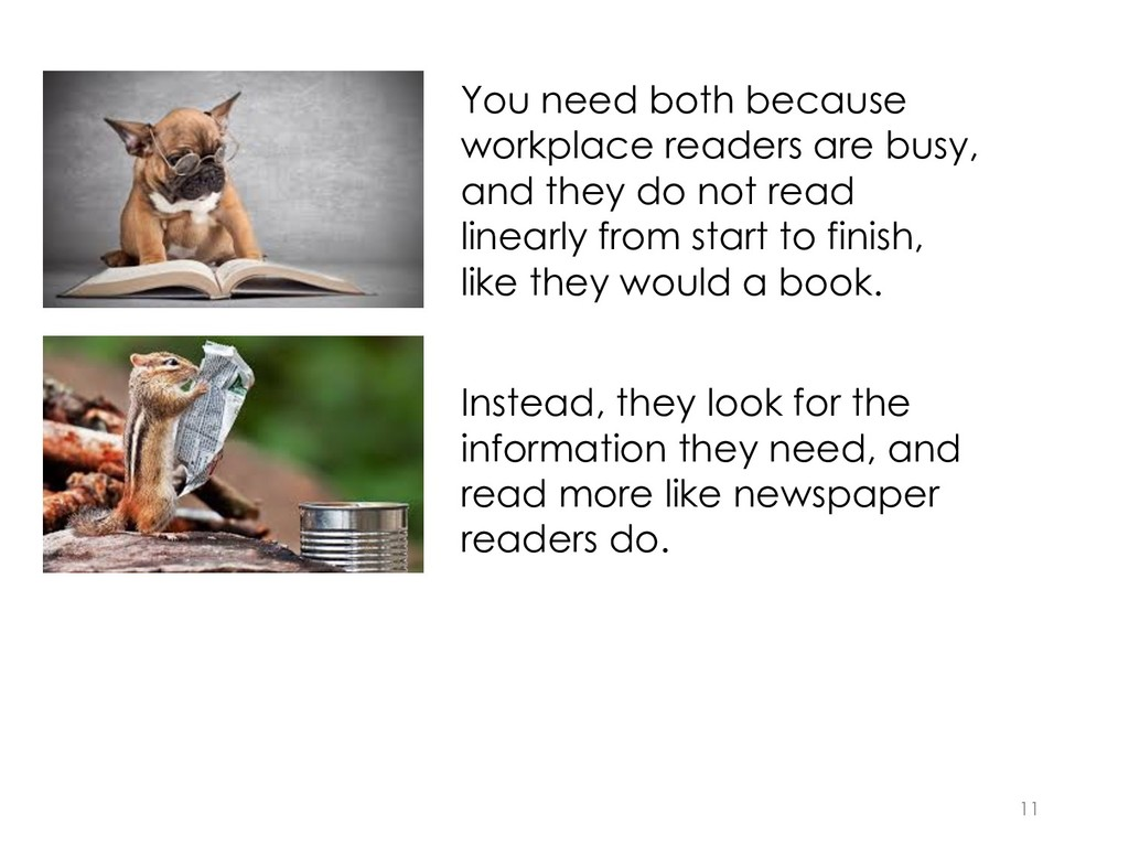 You need both because workplace readers are bus...