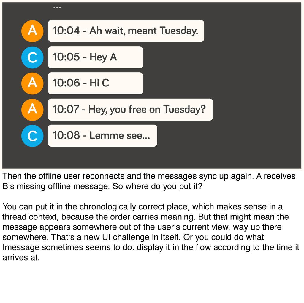 10:04 - Ah wait, meant Tuesday. A … 10:05 - Hey...