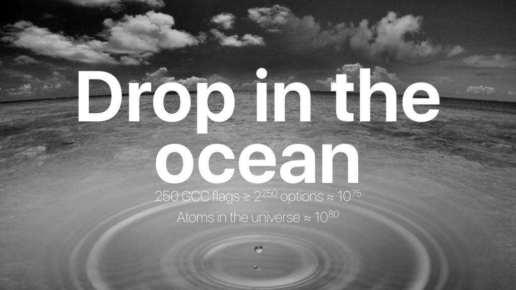 ocean Drop in the 250 GCC flags ≥ 2250 options ...