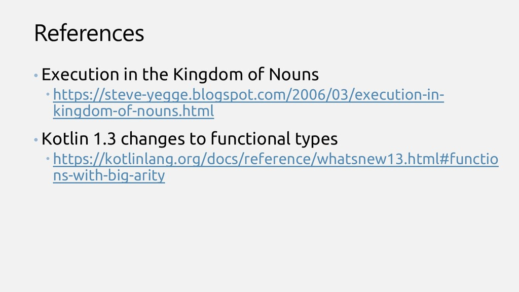References • Execution in the Kingdom of Nouns ...