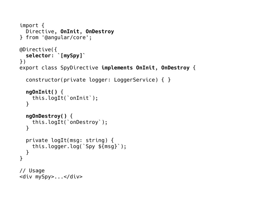 import { Directive, OnInit, OnDestroy } from '@...
