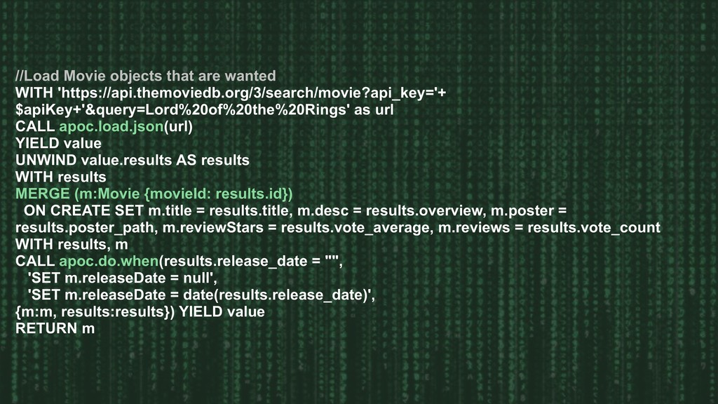 //Load Movie objects that are wanted WITH 'http...