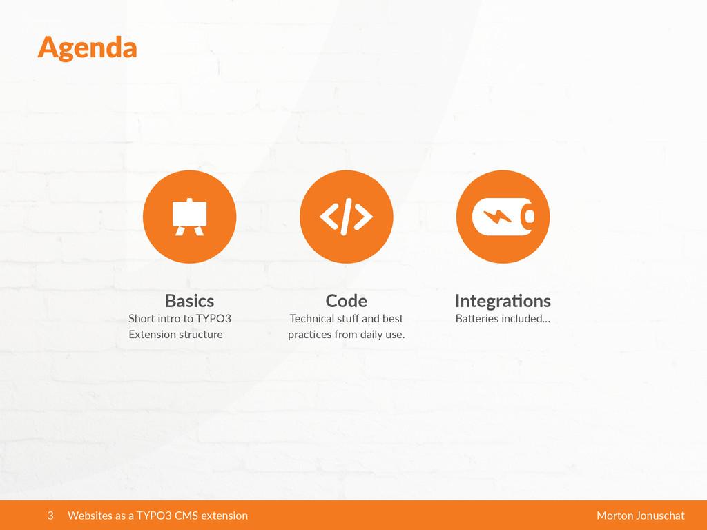 Agenda Websites as a TYPO3 CMS extension M...