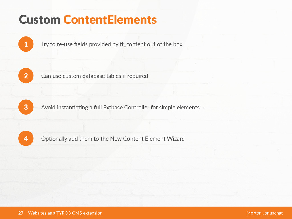 Custom ContentElements Try to re-‐use field...