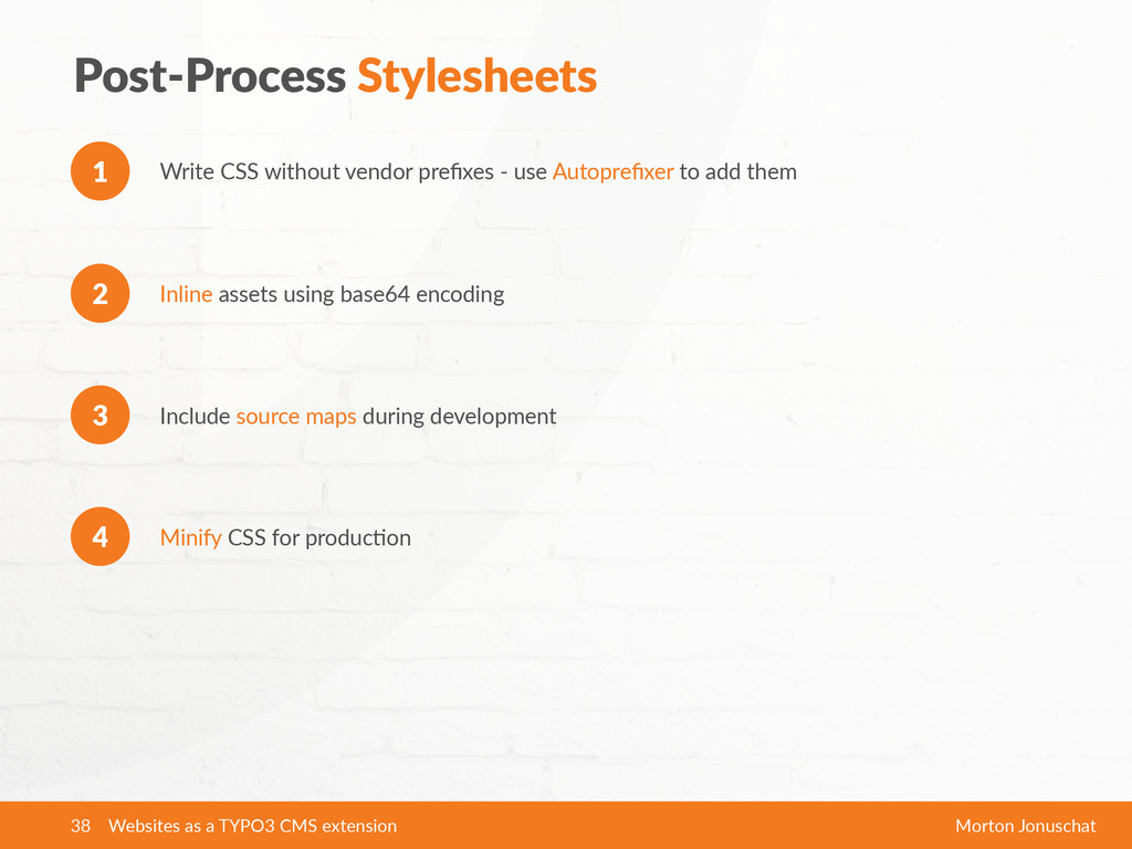 Post-­‐Process  Stylesheets Write  CSS  without...