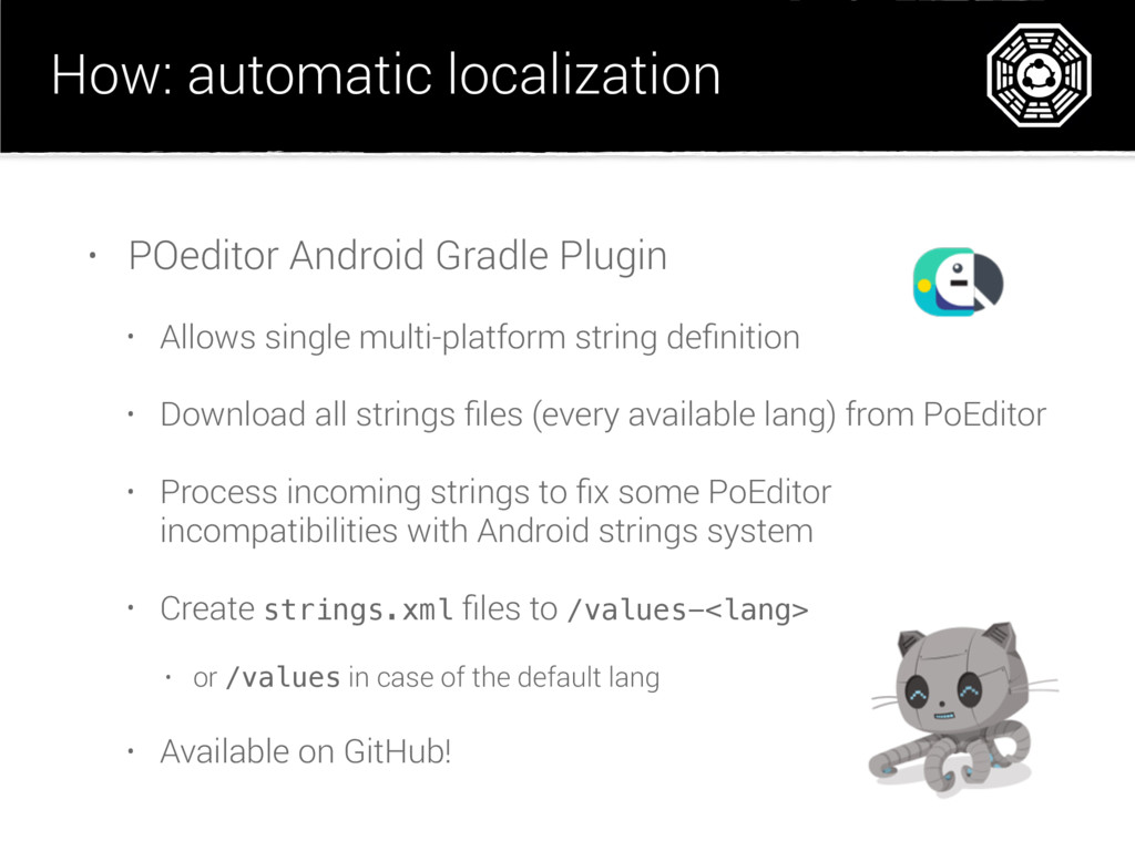 How: automatic localization • POeditor Android ...