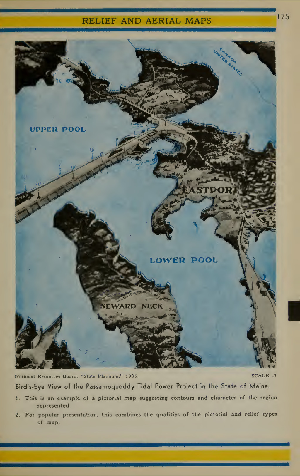 RELIEF AND AERIAL MAPS 175 N.-ition;.! Rc^ourrr...