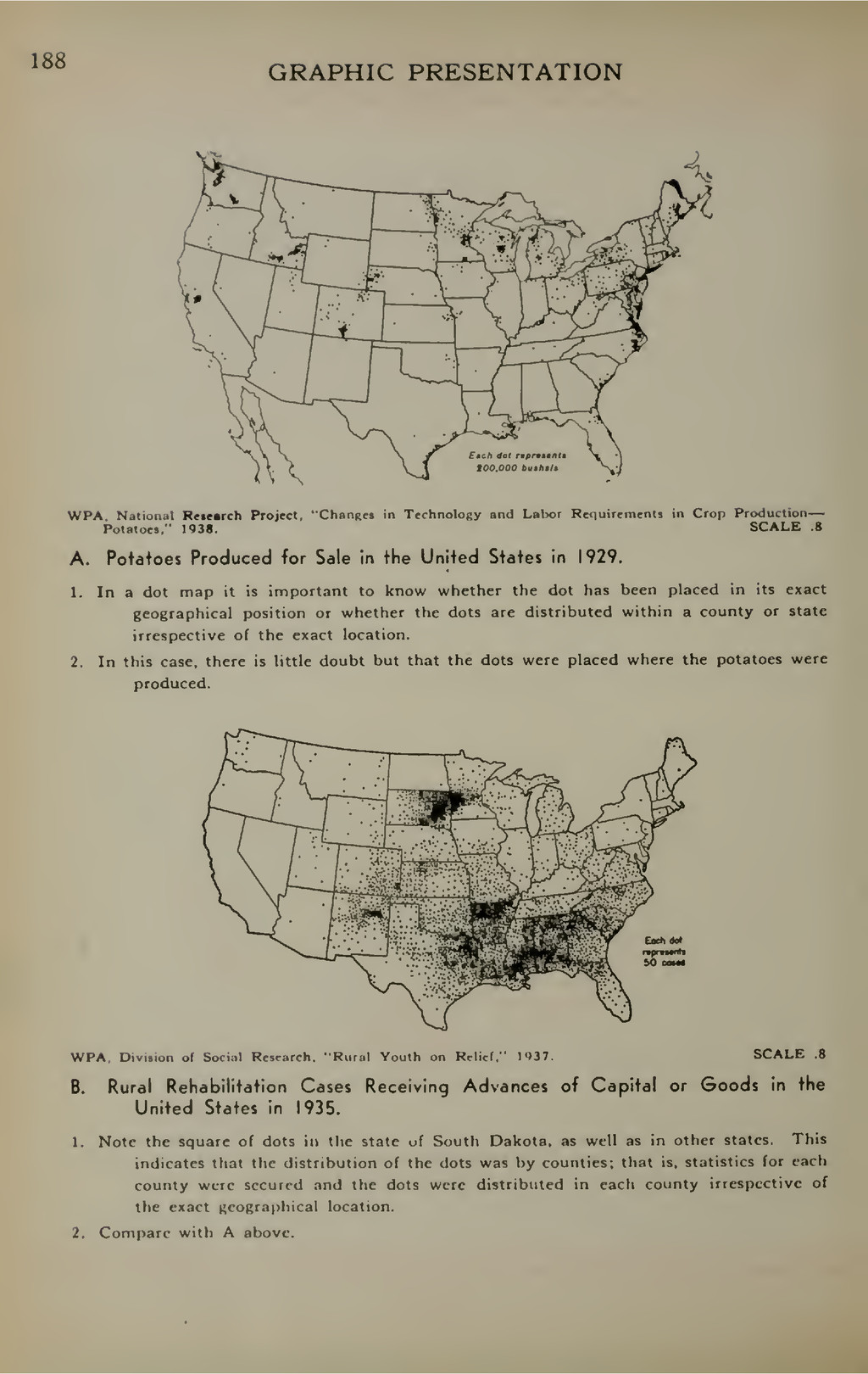 188 GRAPHIC PRESENTATION WPA. National Rrtearch...