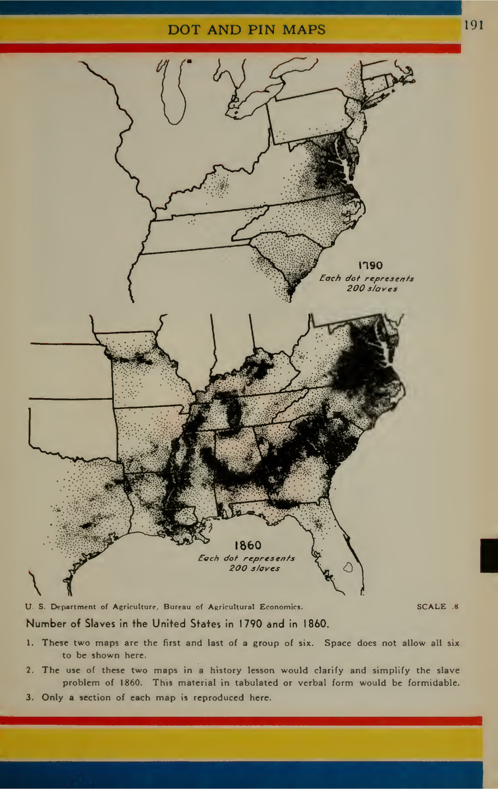 DOT AND PIN MAPS 191 I U. S. Department of Af(r...